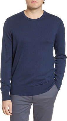 Tommy John Second Skin Cotton Blend Crewneck Sweater