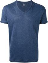 Majestic Filatures v-neck T-shirt - men - Silk/Linen/Flax - XL