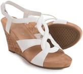 Aerosoles Fabuplush Wedge Sandals - Vegan Leather (For Women)