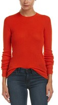 Vince Ribbed Cashmere Top.