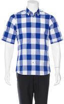 Jil Sander Plaid Woven Shirt