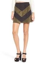 Astr Women's 'Ruth' Faux Suede Miniskirt