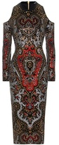Balmain Crystal-embellished Cut-out Dress