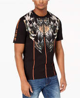 Sean John Men's Tiger Graphic-Print Rhinestone T-Shirt, Created for Macy's