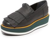 Paloma Barceló Illinois Fringe Platform Loafers