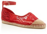 Cole Haan Noomi Lace Ankle Buckle Espadrille Flats