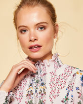 Ted Baker Unity Floral high neck blouse
