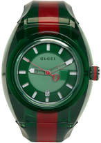 Gucci Green and Red G-Sync Watch