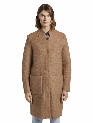 Tom Tailor Women's Boucle Mantel Jacket