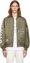 Perks And Mini Green Utopiates Bomber Jacket