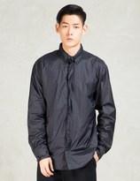 Still Good Navy Nylon Shirt Jacket