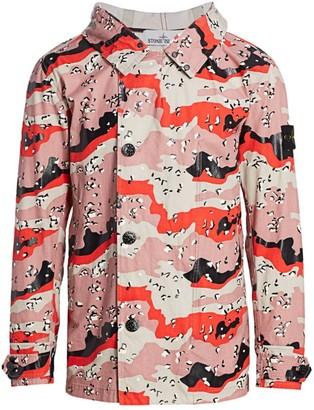 Stone Island Desert Camo-Print Jacket