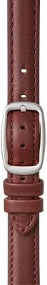 Shinola Women's Interchangeable Leather Watch Strap, 14mm