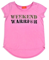 Butter Shoes Girls' Weekend Warrior Tee - Big Kid