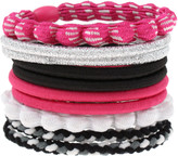 Capelli New York Assorted Pink Ponytail Holders