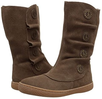 Livie & Luca Tiempo (Little Kid) (Taupe Suede) Girl's Shoes
