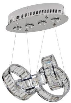 Allegri By Kalco Lighting Anastagio 4-Light Unique / Statement Geometric Pendant by Kalco Lighting