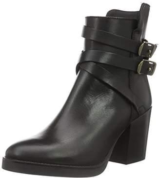Manas Design Women's Brugge Ankle Boots, Black (Black), (40 EU)