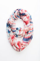J. Jill Pure Jill Painterly Striped Infinity Scarf