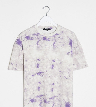 Missguided Maternity co-ord tie dye t-shirt
