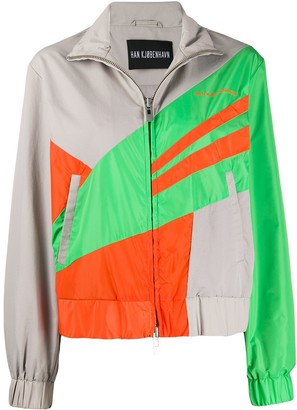 Han Kjobenhavn Colour Blocked Sport Jacket
