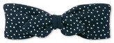 Petit Bateau Baby girls polka dot hair band