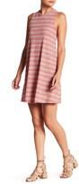 Soprano Sleeveless Stripe Shift Dress