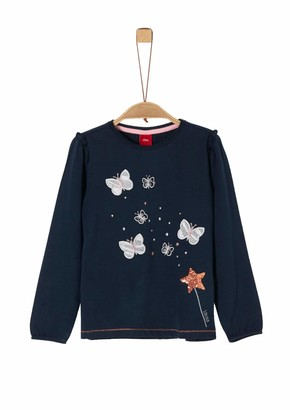 S'Oliver Girl's 53.911.31.7474 Long Sleeve Top