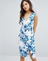 Oasis Floral Print Pencil Dress