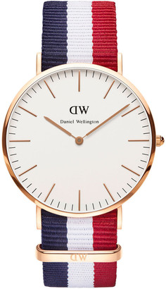 Daniel Wellington Classic Cambridge 40mm Rose Gold Watch