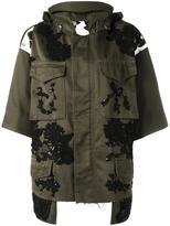 Antonio Marras lace appliqué jacket - women - Cotton/Viscose - 44