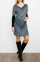 Maternal America Women's Bias Stripe Maternity Dress