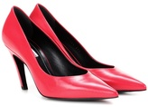 Balenciaga Slash Heel leather pumps