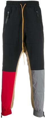 Rhude Colour-Block Track Pants