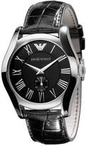 Emporio Armani Men's AR0643 Classic Leather Roman Numeral Dial Watch