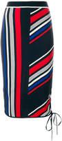 Tommy Hilfiger Gigi Hadid striped pencil skirt
