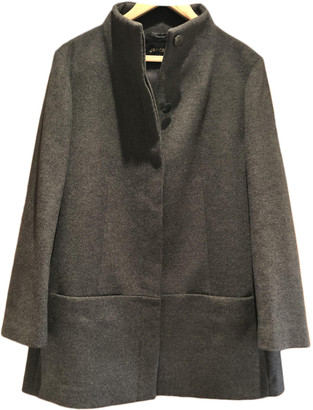 Jaeger Grey Wool Coats