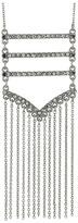 Rebecca Minkoff Pave + Fringe Pendant Necklace