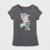 Cat & Jack Toddler Girls' Graphic T-Shirt - Cat & Jack Smokestone