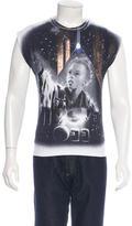 Balenciaga Egyptofunk Glitter Girl T-Shirt