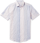 Incotex - Eddie Slim-fit Striped Stretch-cotton Shirt