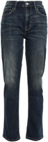 Thumbnail for your product : Current/Elliott High-rise Straight-leg Jeans