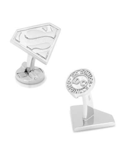 Cufflinks Inc. Sterling Silver Superman Cuff Links