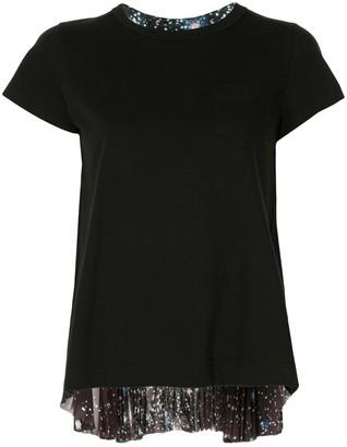 Sacai Space-Print T-Shirt