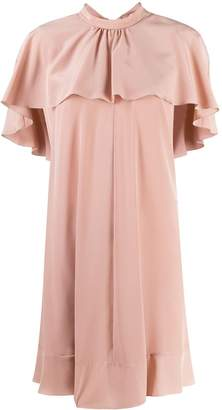 RED Valentino ruffle collar dress