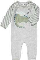Angel Dear Sleeping Dragon Intarsia Knit Coverall, Size 0-12 Months