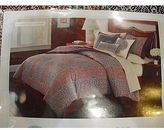 Martha Stewart Palace Blockprint Queen 6 Peice Comforter Bed In A Bag Set