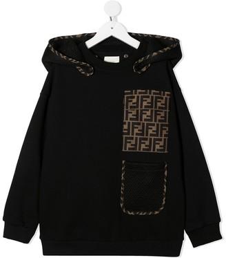 Fendi Kids FF-motif hoodie