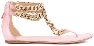 Giambattista Valli Chain-Detail Sandals