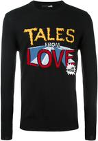 Love Moschino 'Tales from Love' jumper